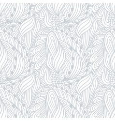 Hand drawn outline fashion seamless pattern vector
