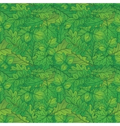 Leaves of plants seamless summer vector