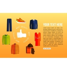 Best quality clothes vector image