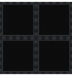 Carbon vent plate vector