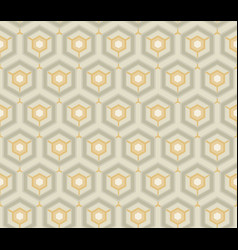 Retro wallpaper vintage pattern vector