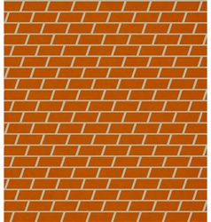 seamless brick pattern wall vector image