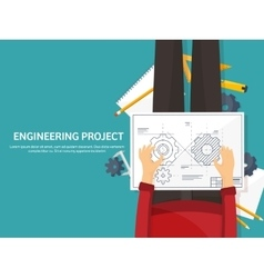 Engineering and architecture vector