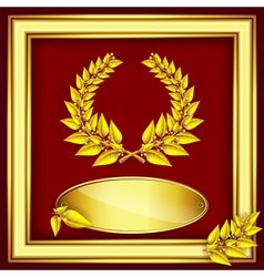 Award or jubilee certificate vector