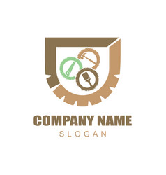 carpentry logotype vector image