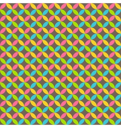Bright abstract seamless pattern with multicolored vector