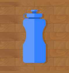 sport bottle with water vector image