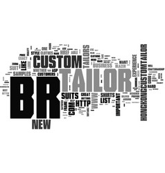 What to look for in your tailor text word cloud vector