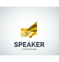 Speaker logo business branding icon vector