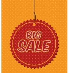Big sale discounts and offers shopping vector