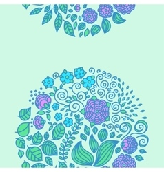 Tattoo floral doodle elements vector