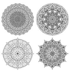 Decorate mandala vector