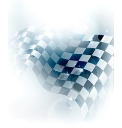 Blue checkered background vector