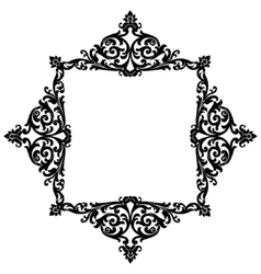 Elegant decorative frame vector