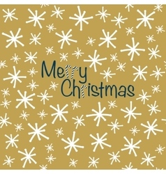 Merry Christmas Seamless christmas pattern in vector image vector image