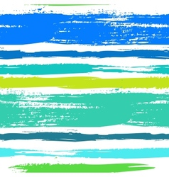 Multicolor striped pattern with brushed lines vector