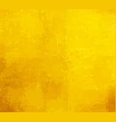yellow grunge paint background vector image