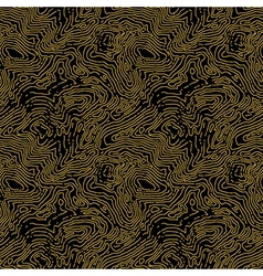 Seamless topographic contour map pattern seamless vector image