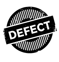 Defect stamp rubber grunge vector