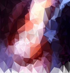 Contrast black blue violet polygonal triangular vector