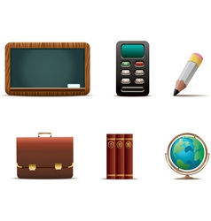 Educational icons vector