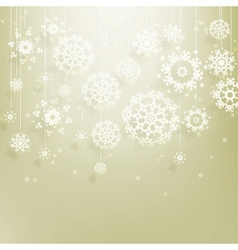 Abstract christmas with snowflakes eps 10 vector