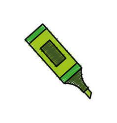 Highlighter pen icon vector