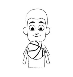 young boy icon image vector image