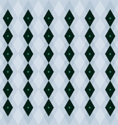 Emerald pattern vector
