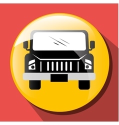Transport vehicle and delivery vector