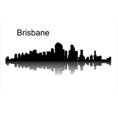 Brisbane queensland australia vector