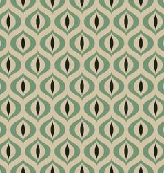 Retro Geometric seamless pattern Cats eye vector image