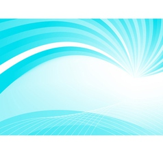 Abstract blue template vector