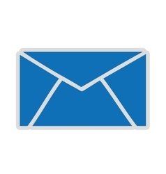Email setup isolated icon design vector