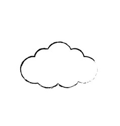 Figure natural cloud design to fresh weather vector