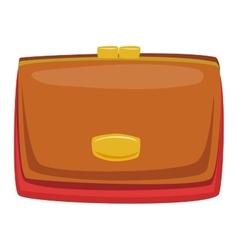 Open purse wallet vector