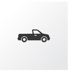 pickup icon symbol premium quality isolated vector image vector image