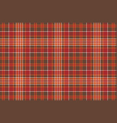 Red brown check square pixel seamless background vector