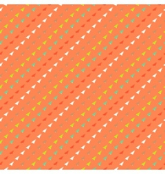 Multicolor geometric hipster pattern vector