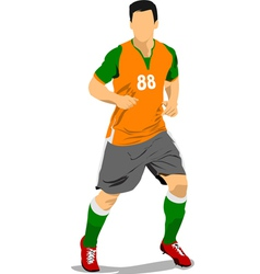 al 0919 soccer02 vector image