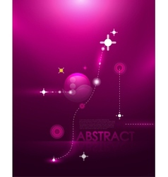 abstract cosmic compostion vector image