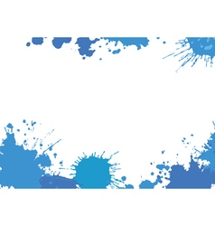 Background with blue botches vector