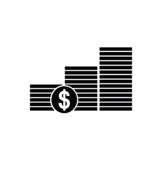 money dollar vector image