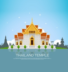Thailand temple vector