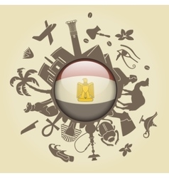 Symbol of egypt vector