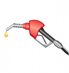 Gas pump nozzle vector