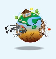 Global warming design 07 vector