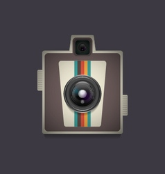 4353d retro camera9vs vector
