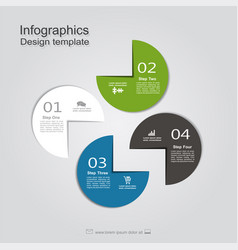 template with place for your data vector image vector image