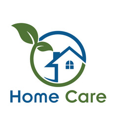 home care logo vector image